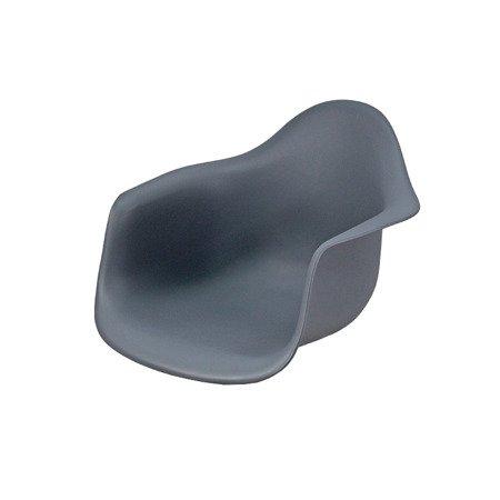 Krzesło Dla Dzieci Niebieski Na Biegunach Na Metalowo